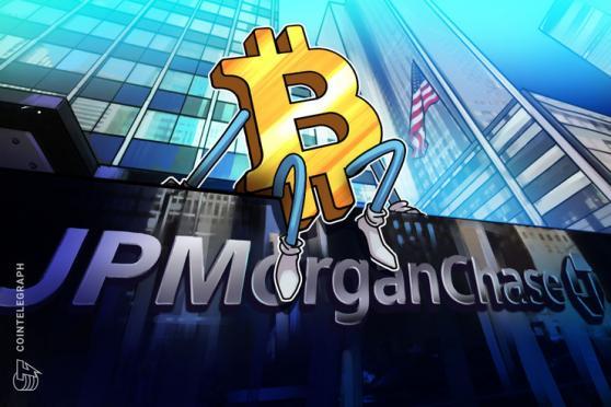JPMorgan note to clients endorses 1% Bitcoin