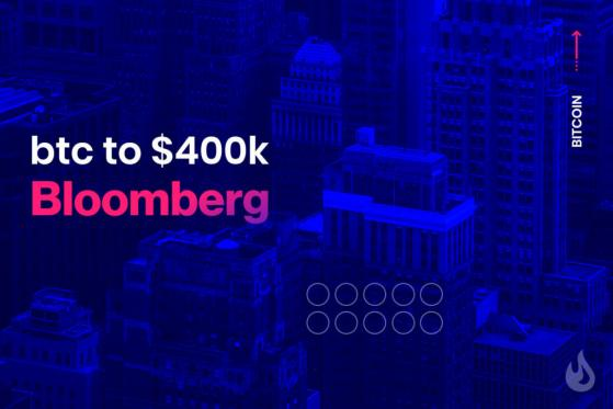 Bloomberg Foresees Bitcoin Rallying To $400k